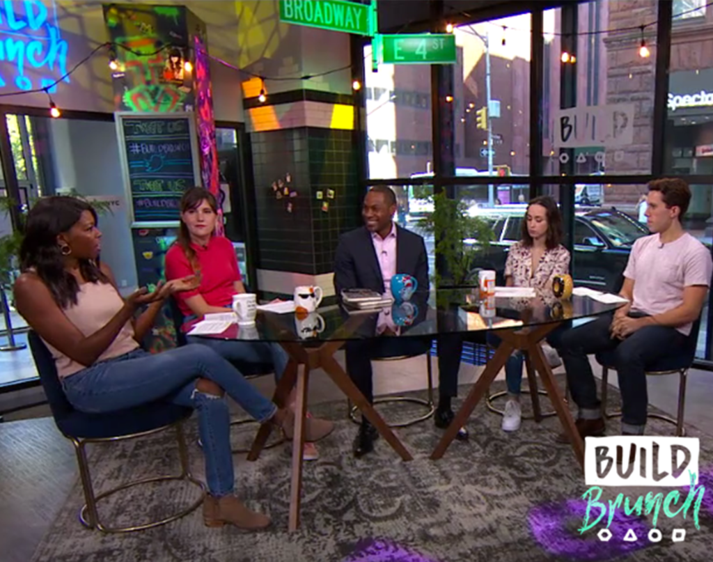 Marion E. Brooks Joins The Table at Build Brunch Studios Live